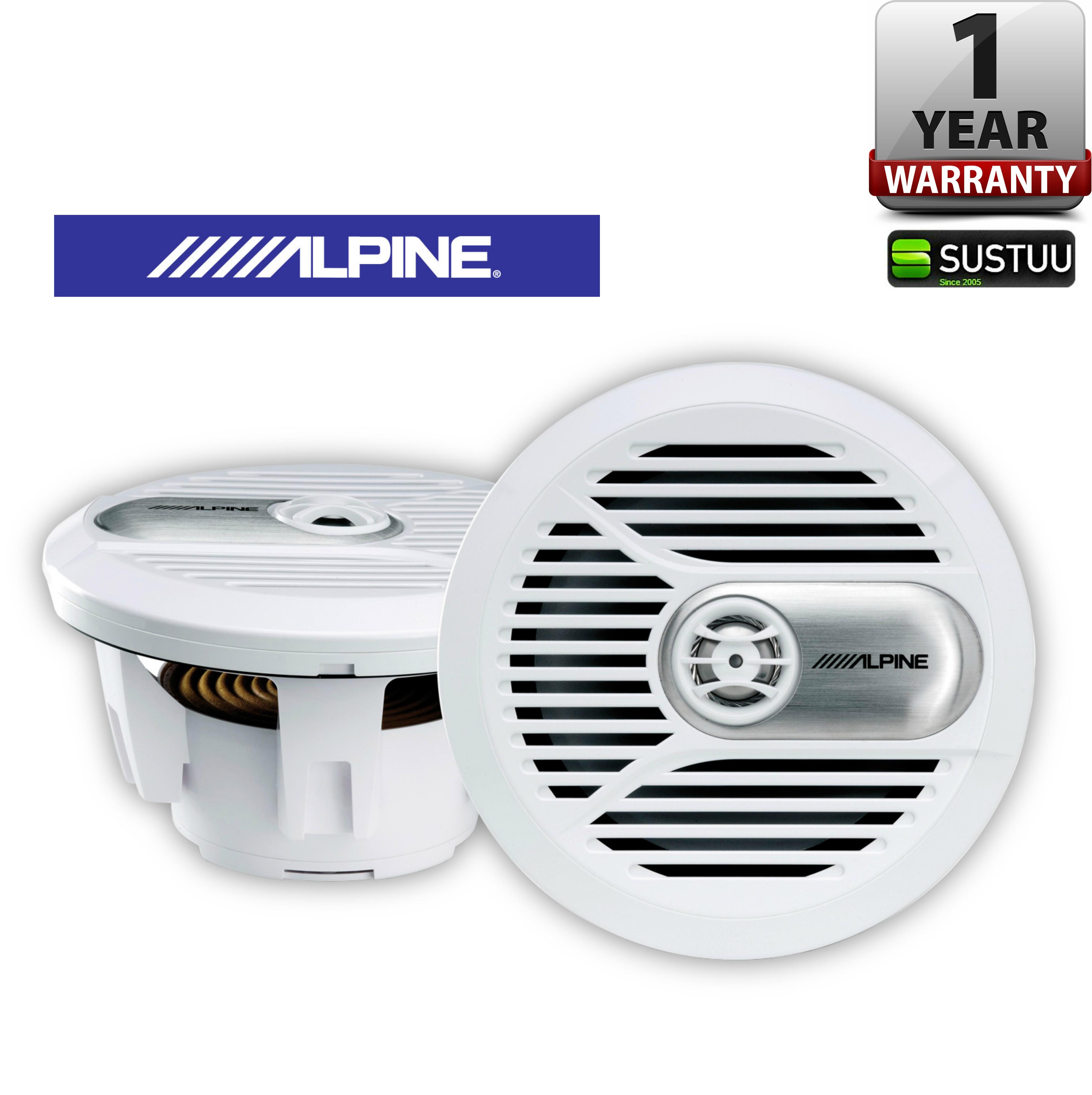 ALPINE SPR M700W In Car Audio Sound Speaker Set