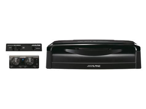 "Alpine SWE-1200 | 8"" Underseat Remote Amplifier Subwoofer 