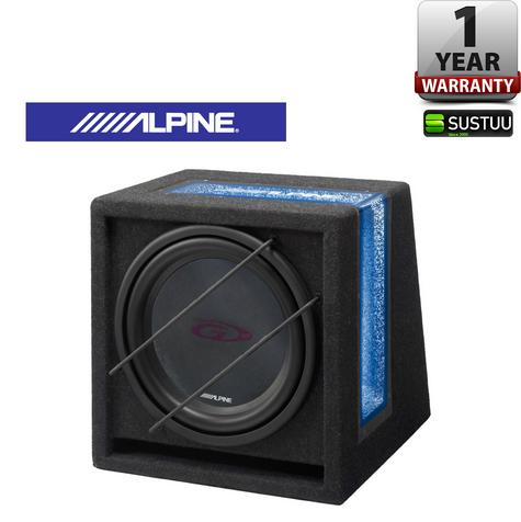 ALPINE SBG 1244BR Car Vehicle Audio Boxed Subwoofer Thumbnail 1