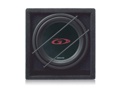 ALPINE SBG 1244BR Car Vehicle Audio Boxed Subwoofer Thumbnail 2