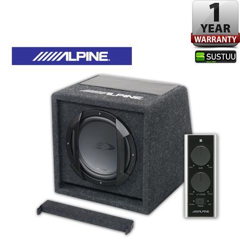 ALPINE SWE 815 In car Sound Vehicle Audio Speaker Subwoofer Thumbnail 1