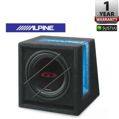ALPINE SBG 1044BR Car Vehicle Audio Boxed Subwoofer Thumbnail 1