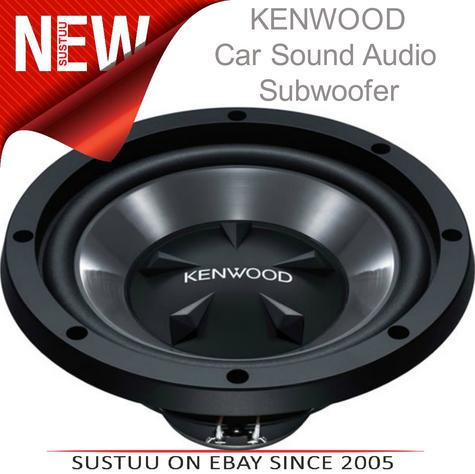 KENWOOD KFC W112S In car Sound Vehicle Audio Speaker Subwoofer Thumbnail 1
