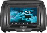 "CKO  7"" DVD Leatherette Headrest | Includes Remote Controls"