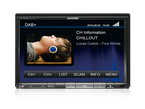 Alpine TUE-DAB1U Add On Mobile DAB/DAB+ Receiver with Direct Touch Control Thumbnail 3