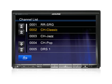 Alpine TUE-DAB1U Add On Mobile DAB/DAB+ Receiver with Direct Touch Control Thumbnail 5