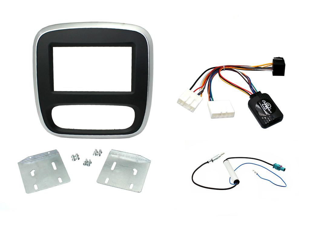 C2 KRT06/KVX37 Facia/Harness Vauxhall Installation Kit Renault Traffic/Vivaro