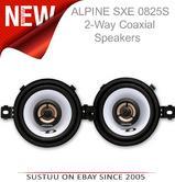 "Alpine SXE 0825S?3.5"" Coaxial Custome Fit 2-way Speakers?Car-Van Dash board?150W"