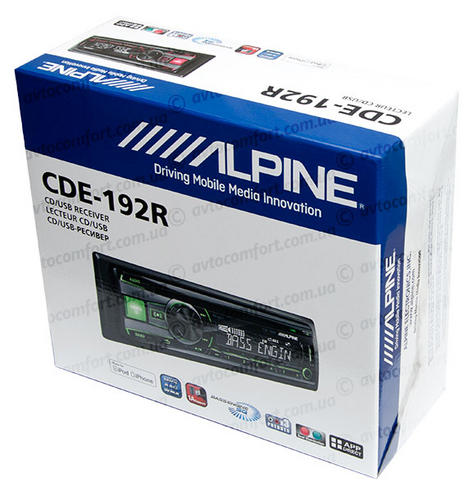 Alpine CDE 192R RADIO/CD/MP3/IPOD/USB/3.5 AUX Car Media Receiver 1YEAR WARRANTY Thumbnail 5