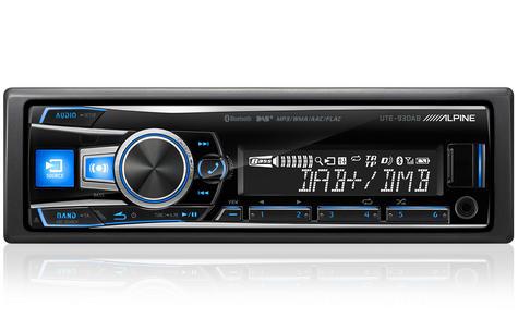 Alpine UTE 93DAB Digital Car Media Receiver Mechless Usb DAB+Bluetooth Front Aux Thumbnail 2