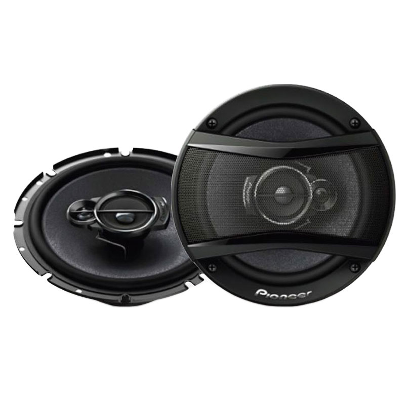 Pioneer TS A1333i 13cm 3 Way Carbon Graphite  Speakers 300w Max