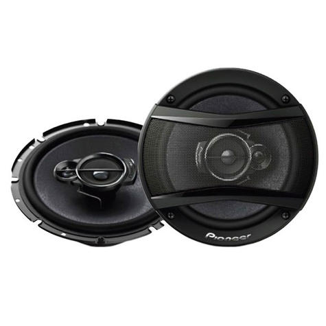 Pioneer TS A1333i 13cm 3 Way Carbon Graphite  Speakers 300w Max Thumbnail 1