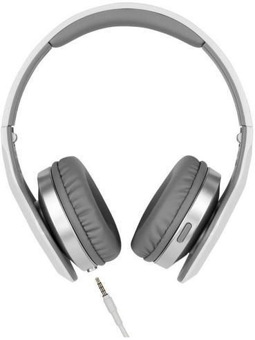 JVC XX Club on ear Elation Series Headphones with Mic & Remote HA-SR100X Silver Thumbnail 3