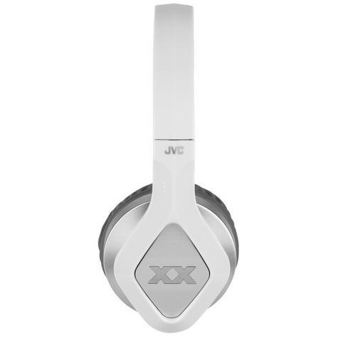 JVC XX Club on ear Elation Series Headphones with Mic & Remote HA-SR100X Silver Thumbnail 2