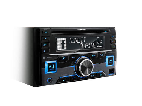 Alpine In Car Stereo-CD Receiver?2DIN?RDS?Bluetooth?USB?Aux?iPod-iPhone-Android Thumbnail 2
