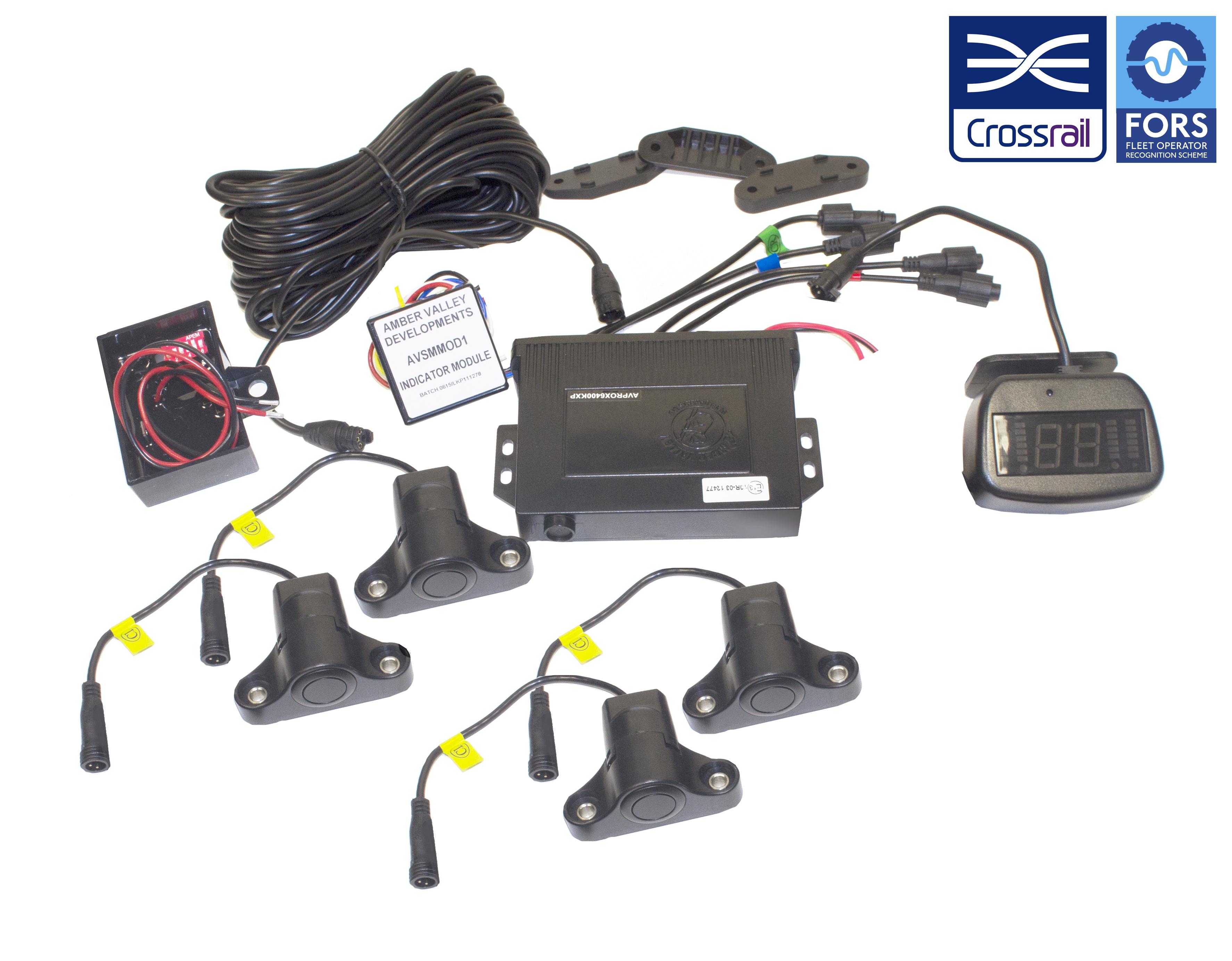 AMBER VALLEY AVPROXCELTRADE-KXP Side Scan Sensors Kit 1YEAR WARRANTY