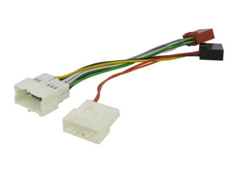 NEW C2 20DC01 Head Unit ISO Wiring Harness Lead Adaptor For Sandero 2012> Thumbnail 1
