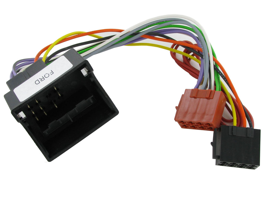 Mondeo New C2 20fd07 Iso Wiring Harness Adaptor Loom For Ford Quadlock Galaxy