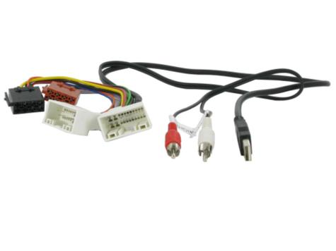 NEW C2 20HY05 ISO Wiring Harness Adaptor Lead For Hyundai H1 With Usb/Aux Thumbnail 1