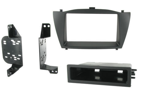 C2 24HY20 Single/Double Din Car Stereo Fascia Adaptor Plate For Hyundai ix35/Tus Thumbnail 2