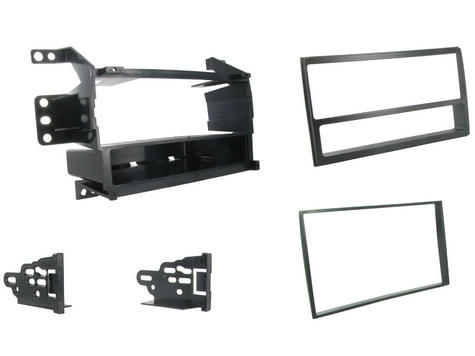 C2 24NS12 Single/Double Din Car Stereo Surround Facia Plate Nissan Juke/Versa Thumbnail 1