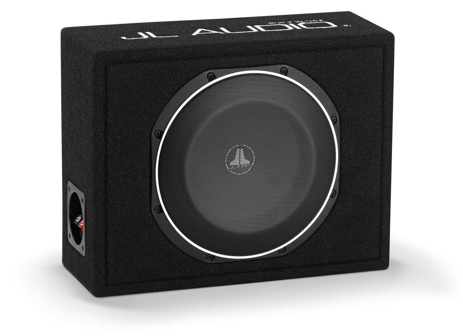 JL AUDIO CS110LG TW1 2-OHMS PowerWedge Car Subwoofer System TW1 Driver 75-300W