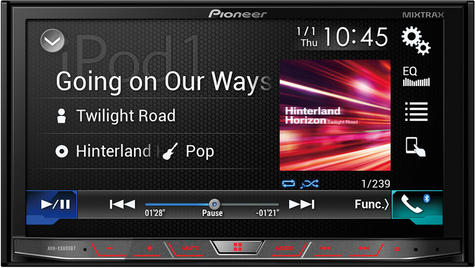 "Pioneer AVH-X8800BT 7"" Touch Screen Car Bluetooth DVD AndroidAuto AppleCar Play Thumbnail 2"