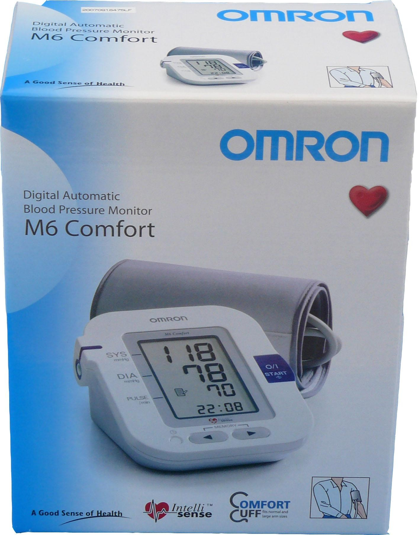 omron hem 7221 e8 blood pressure monitor m6 comfort upper arm personal digital sustuu. Black Bedroom Furniture Sets. Home Design Ideas