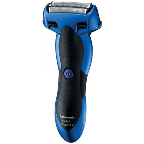 Panasonic Men's 3 Nano Blade Wet & Dry Rechargeable Blue Electric Shaver ESSL41A Thumbnail 2