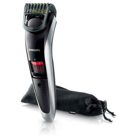 Philips QT4013/23 Beard and Stubble Mens Cordless Trimmer with Titanium Blades Thumbnail 2
