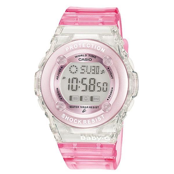 0c5c4c8ad4566 Sentinel Casio Baby-G Ladies Digital Stopwatch World Time Girls Watch Brand  NEW BG-1302