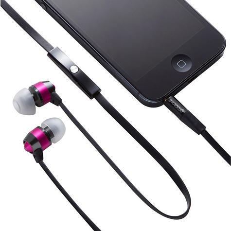 Groov-e Smart Buds Metal Earphones Remote Mic MP3 iPhone iPod GV-EB10PK Thumbnail 2