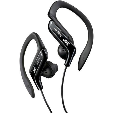 JVC HAEB75B Gym Jogging Running Splash Sweat Proof Adjustable Ear Clip Earphones Thumbnail 2