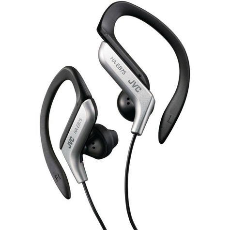 JVC HAEB75S Gym Jogging Running Splash Sweat Proof Adjustable Ear Clip Earphones Thumbnail 2