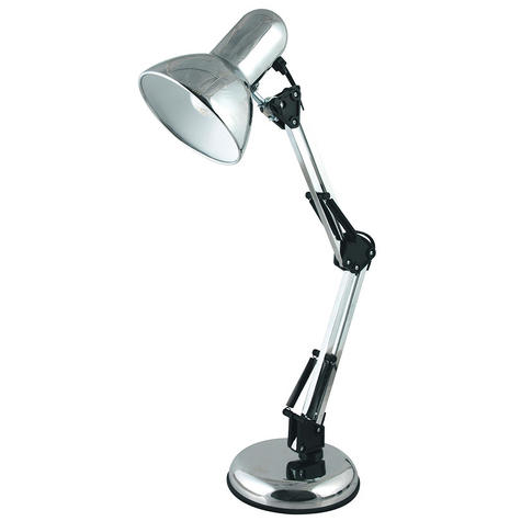 Lloytron L946CH Adjustable Hobby Desk Lamp / Reading Lamp / Polished Chrome / Thumbnail 1