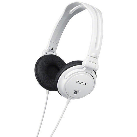 SONY MDR-V150 DJ Headphones for iPod/iPhone/iPad/MP3 Android & Smartphones WHITE Thumbnail 3