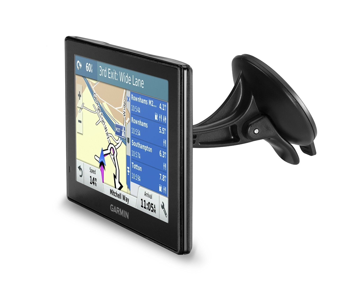 new garmin drive 40lm western europe 4 3 gps satnav free. Black Bedroom Furniture Sets. Home Design Ideas