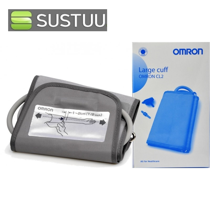 how to put on omron cuff