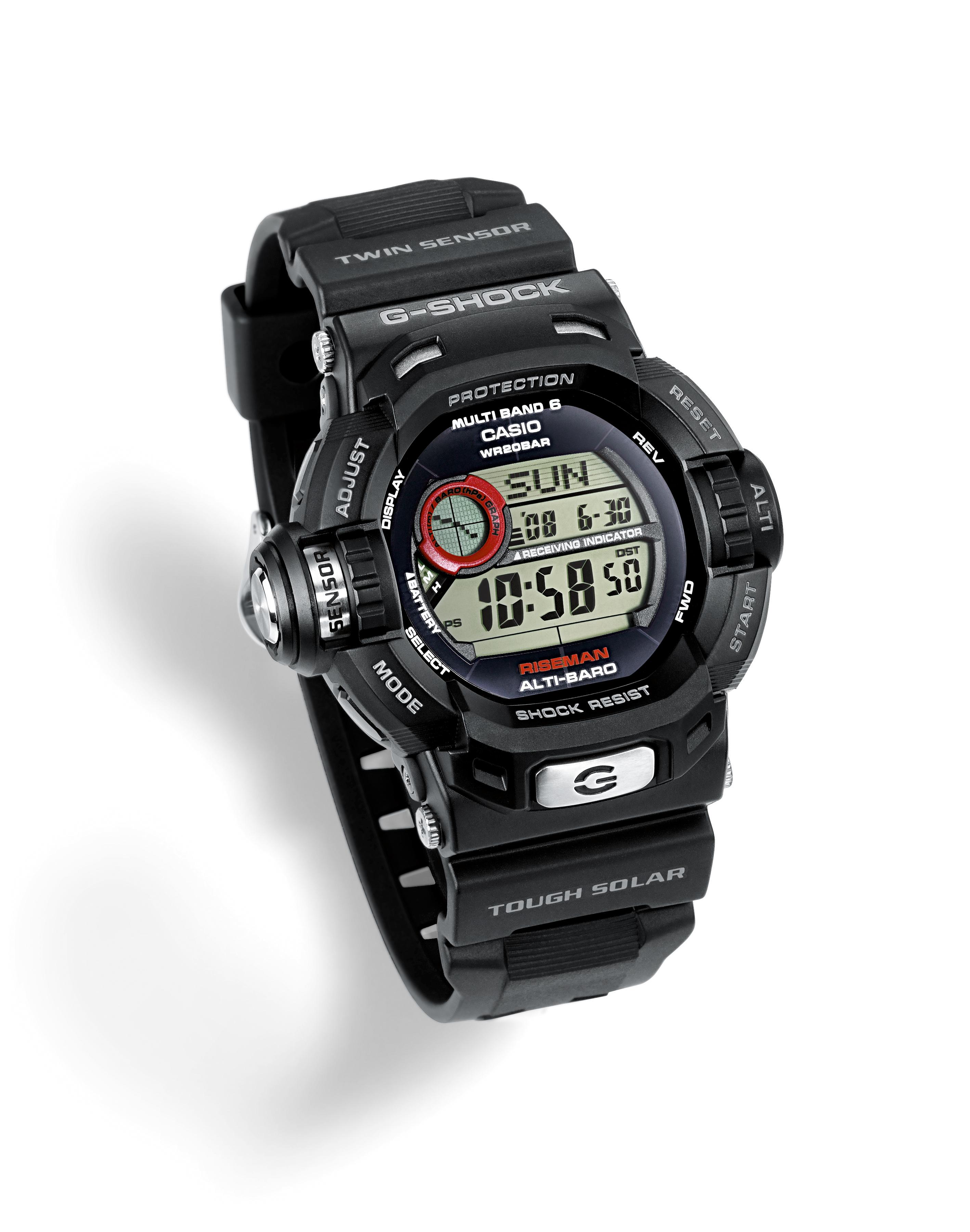 Casio Gw 9200 1er G Shock Riseman Watch Sustuu