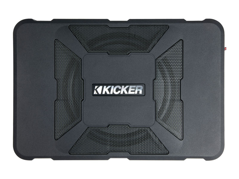Kicker KA11HS8 Audio 8 Inch HS Underseat Powered Subwoofer Enclosure - NEW