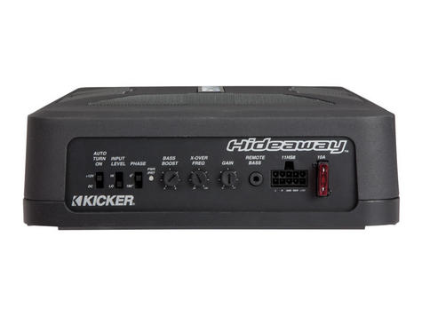 Kicker KA11HS8 Audio 8 Inch HS Underseat Powered Subwoofer Enclosure - NEW Thumbnail 2