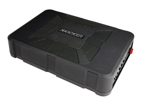 Kicker KA11HS8 Audio 8 Inch HS Underseat Powered Subwoofer Enclosure - NEW Thumbnail 4