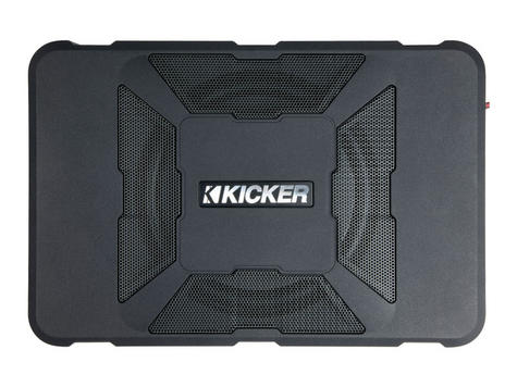 Kicker KA11HS8 Audio 8 Inch HS Underseat Powered Subwoofer Enclosure - NEW Thumbnail 1