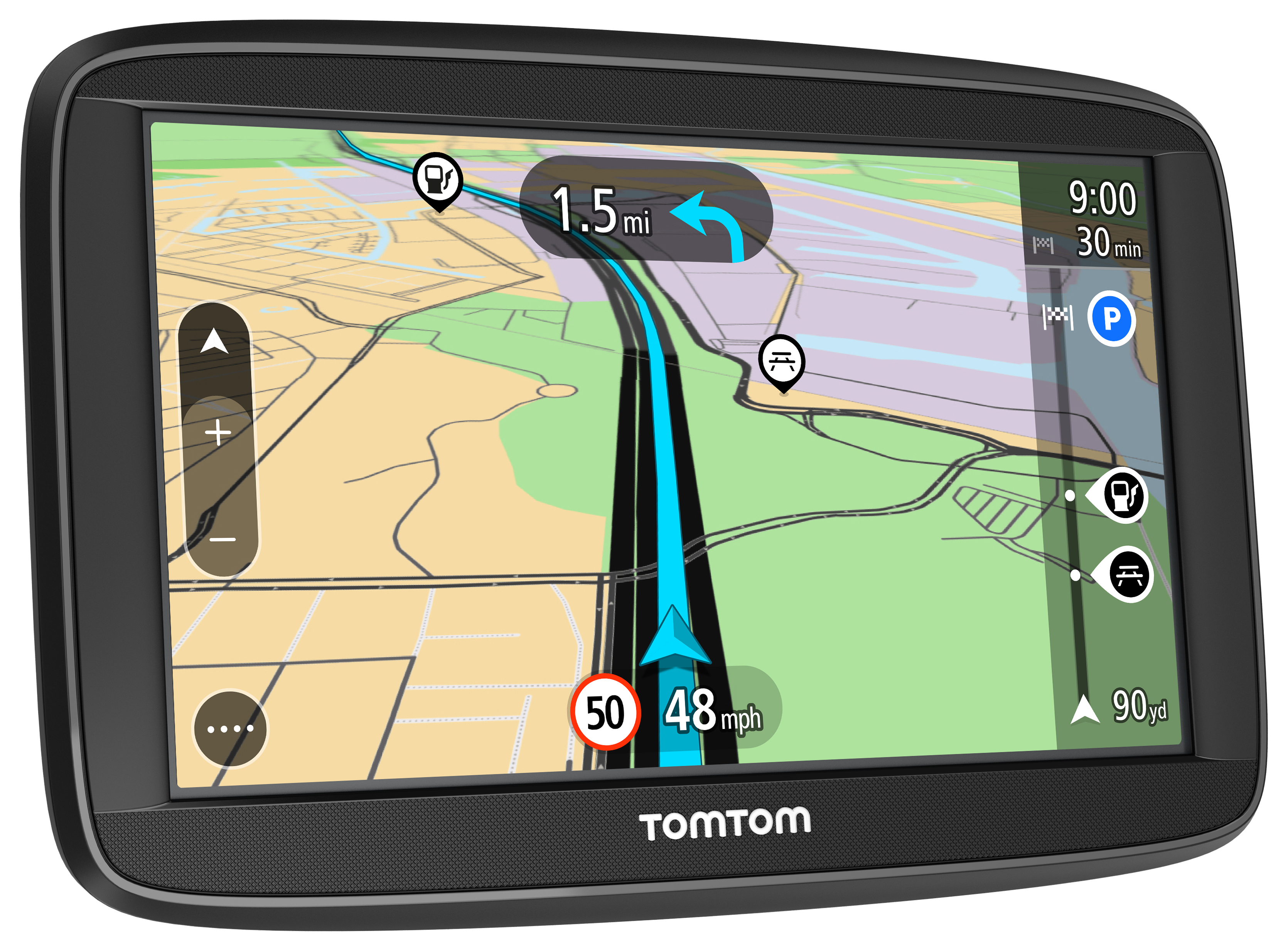 new tomtom start 52 5 gps satnav free lifetime uk. Black Bedroom Furniture Sets. Home Design Ideas