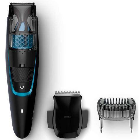 Philips Series 7000 Men's Beard & Stubble Easy Clean Less Mess Vacuum Trimmer  Thumbnail 2