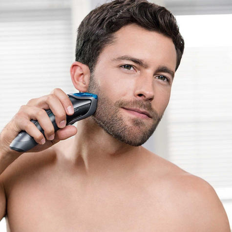 Braun Cruzer5 Mens Beard Trimmer-Clipper | Rechargeable | Corded/Cordless | Washable |  Thumbnail 4