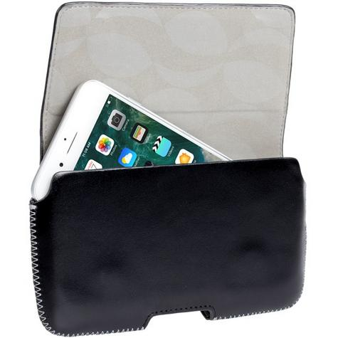 Genuine Krusell Hector 5XL Universal Leather Pouch Case In Black  - 95560 Thumbnail 1
