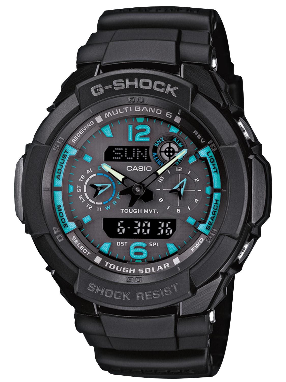 Casio G-Shock Tough Solar Radio Controlled Premium Gent's ...