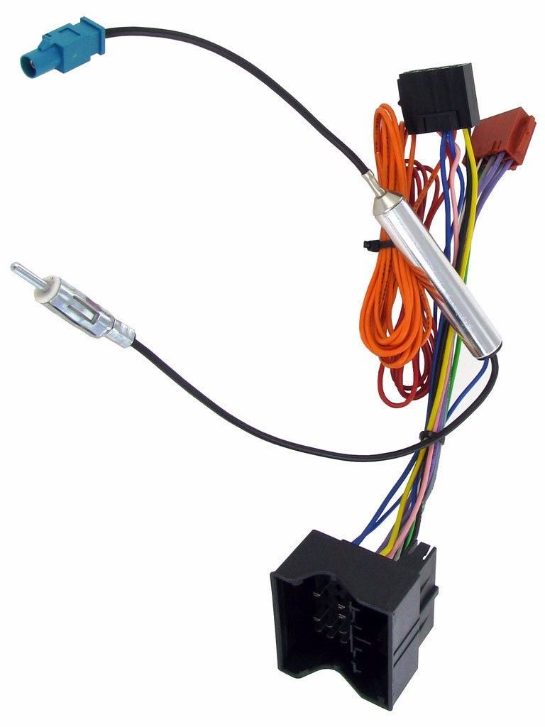Magnificent Zafira C2 Car Stereo Iso Wiring Harness Adaptor Lead For Vauxhall Wiring Cloud Venetbieswglorg