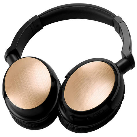 Groov-e GVBT700GD Ultra Wireless Bluetooth Stereo Headphones/Powerful Sound/Gold Thumbnail 4